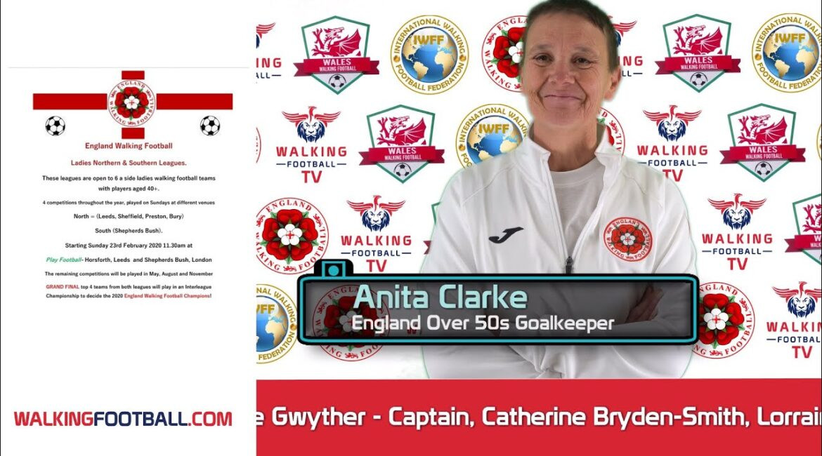 Beast IPTV 24h Test Interview-With-England-Over-50s-Walking-Football-Goalkeeper-Anita-Clarke