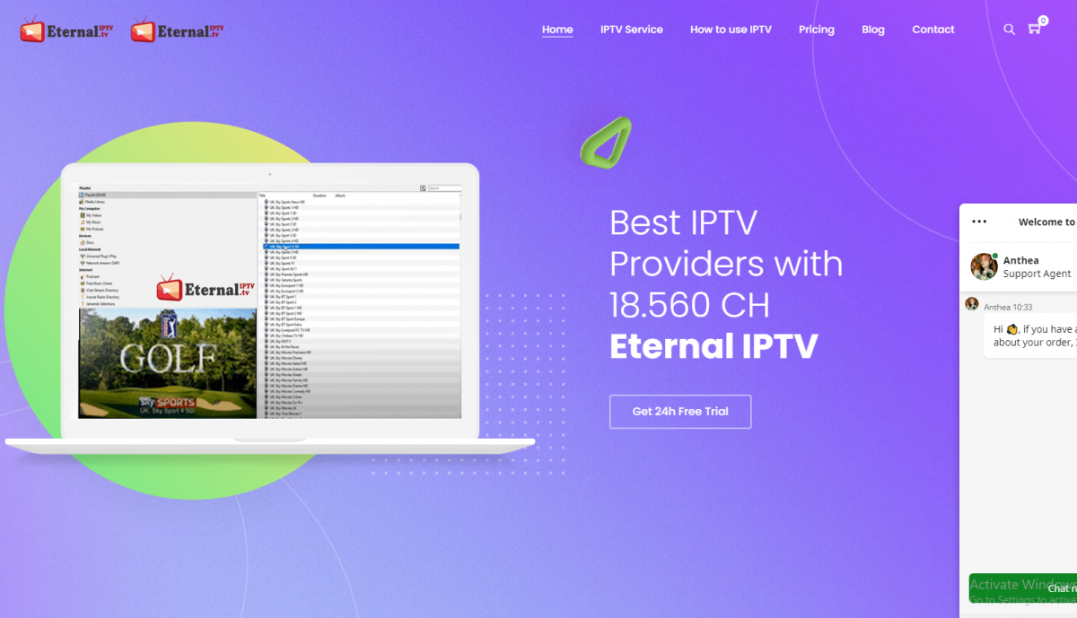 Beast IPTV 24h Test eternal-iptv-channelslist